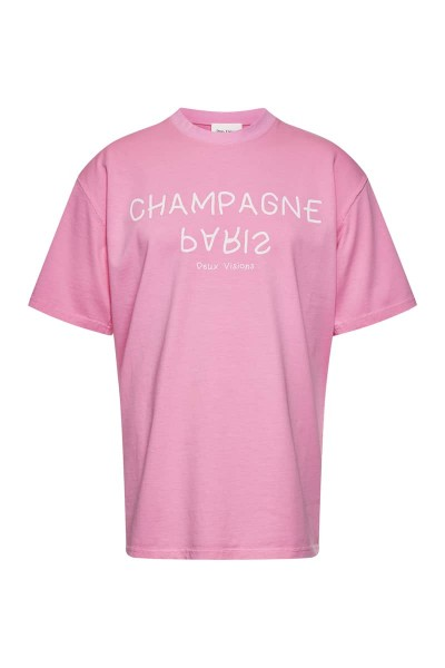 "T-Shirt Pink ""Champagne Paris"""