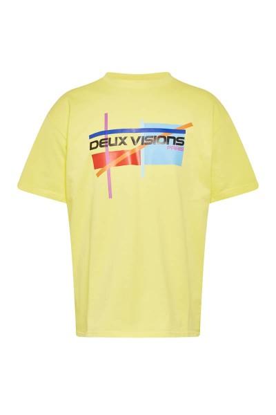 "T-Shirt Yellow ""Graphik"""