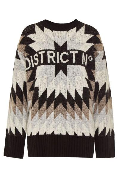 "Pullover ""District - Mexico"" Black"
