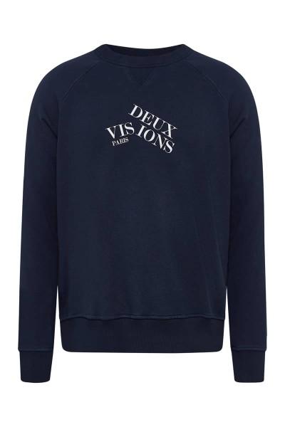 "Sweater Navy ""Logo Asymmetrisch"""